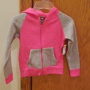 Diva Shirts & Tops - Diva Zip Up Hooded Sweatshirt
